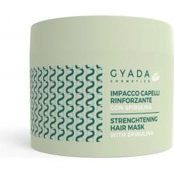 STRENGTHENING HAIR MASKE  WITH SPIRULINA