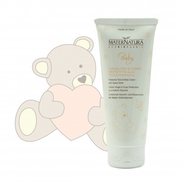 Protective Face&Body Cream with Sweet Violet