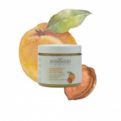 Apricot face body exfoliating scrub